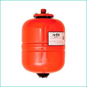 Мембранный бак для отопления Uni-Fitt