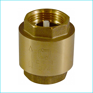 Клапан обратный СТМ латунный муфтовый
