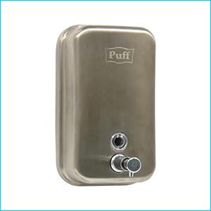 Дозатор для жидкого мыла настенный антивандальный Puff-8605m