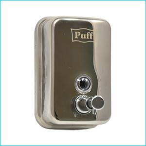 Дозатор для жидкого мыла настенный антивандальный Puff-8605