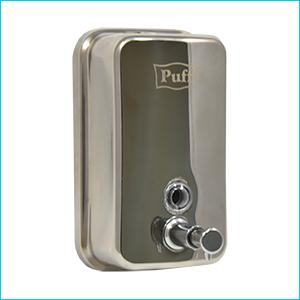 Дозатор для жидкого мыла настенный антивандальный Puff-8608
