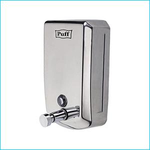 Дозатор для жидкого мыла настенный антивандальный Puff-8705
