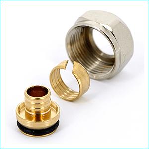 Соединитель обжим Uni-Fitt для полиэтиленовых труб