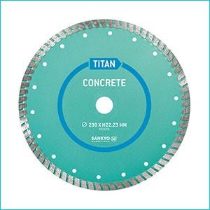 Алмазный диск для бетона и плитки Sankyo TITAN