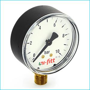 Манометры для измерения давления радиальные
