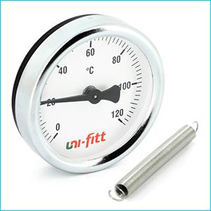 Термометры для отопления накладные