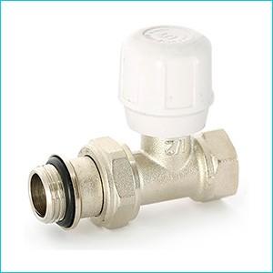 Клапан радиаторный прямой Uni-Fitt быстрого монтажа