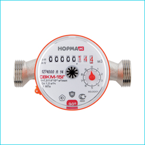 Счетчик воды СВКМ-15 Г 110 мм НОРМ ИС