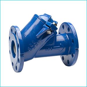 Клапан 55/35 AVK обратный шаровый фланцевый