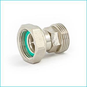 Соединение UNI-FITT с обратным клапаном и накидной гайкой