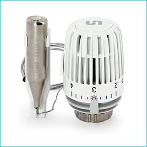 Термостатическая головка Uni-Fitt с дистанционным датчиком