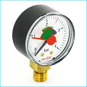 Манометры для измерения давления с индикатором
