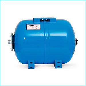 Горизонтальный мембранный бак для водоснабжения Uni-Fitt