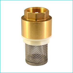 Клапан обратный СТМ латунный с сеткой