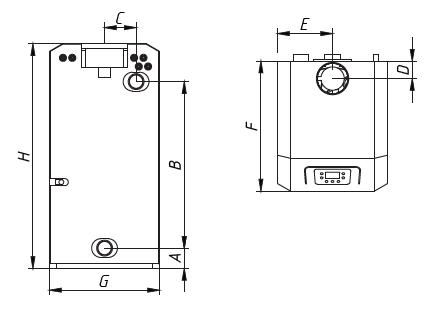 Котел CLEVER 40 WESTER напольный газовый 2