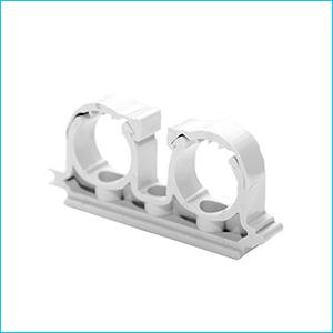 Опора для труб двойная полипропиленовая (PPR) Valfex