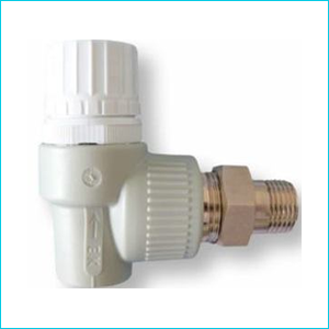 Вентиль Ekoplastik PPR радиаторный термостатический угловой