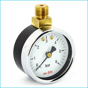 Манометры для измерения давления верхние