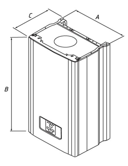 Настенный газовый котел ARDERIA D14 2