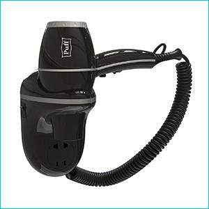 Фен для волос Puff-1800ВlB настенный