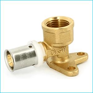 Пресс фитинги для металлопластиковых труб - водорозетка